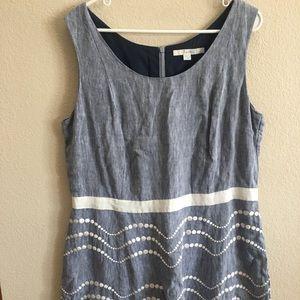 Boden chambray dress